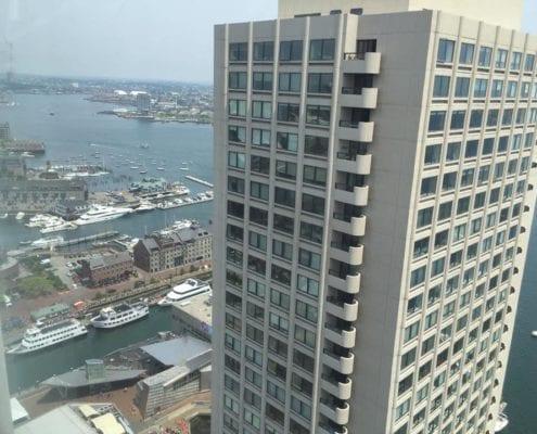 Boston Condominium Remodel - View of the Harbor
